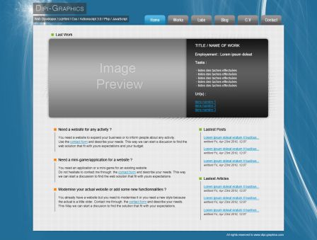 v3 dipi-graphics HomePage